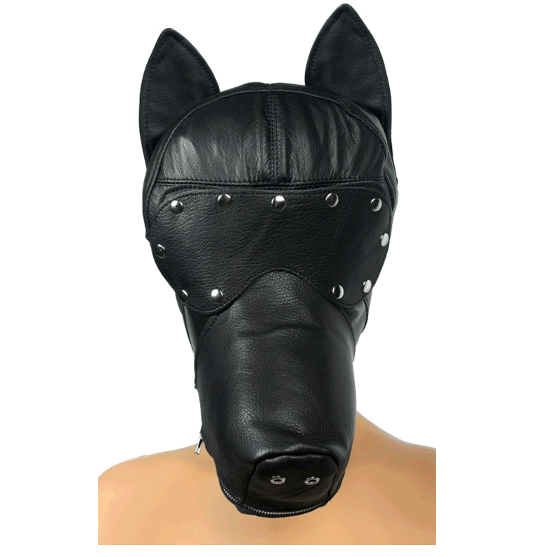 Ultimate Leather Dog Hood