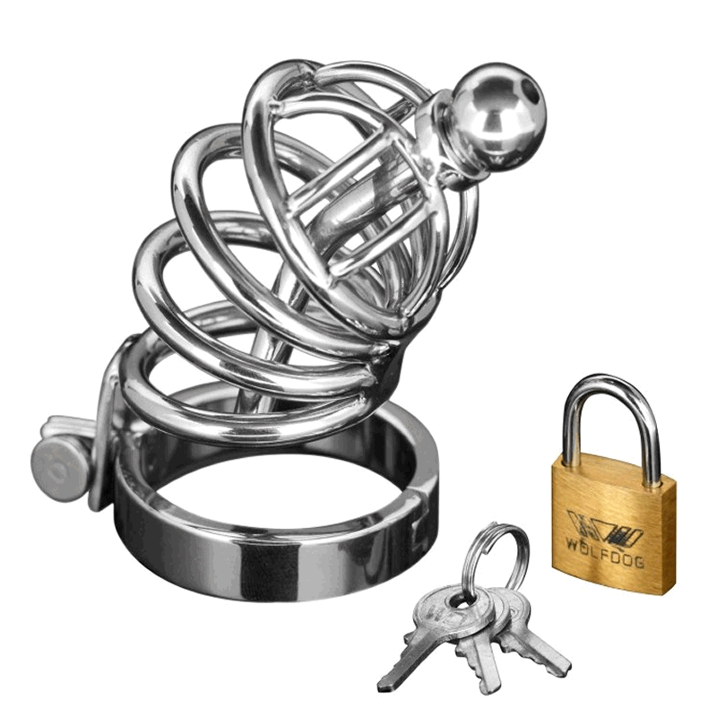 Asylum Locking Chastity Cage