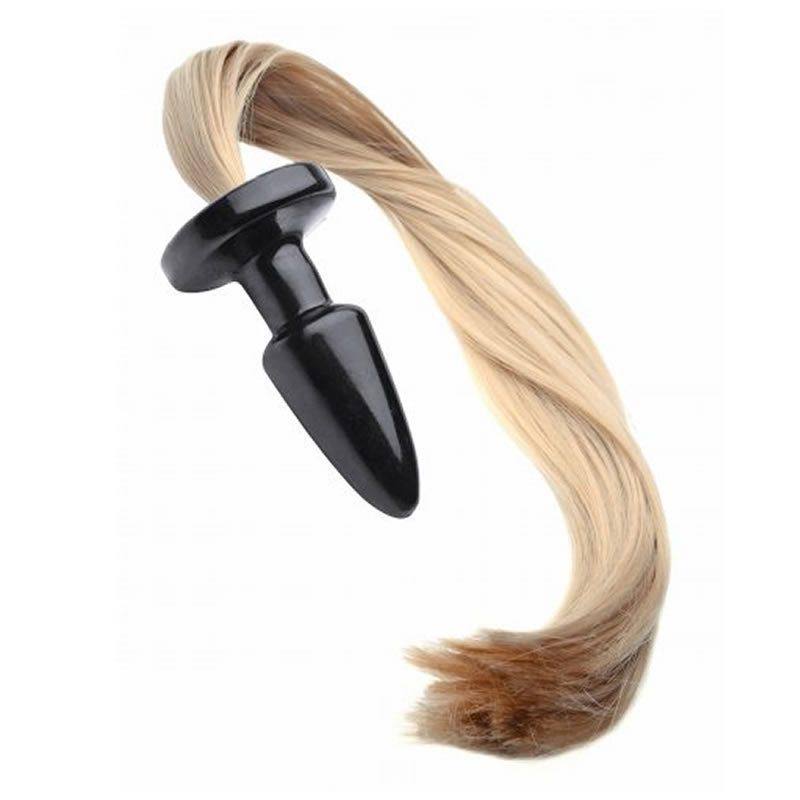Blondie Pony Tail Butt Plug